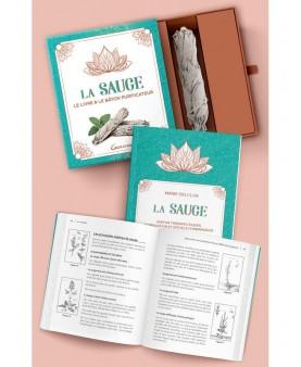 La sauge - Le livre & le bâton purificateur