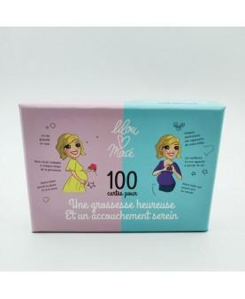 100 cartes pour une grossesse heureuse et un accouchement serein