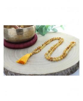 Mala Jade jaune 108 perles