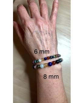Bracelet chemin de vie 6mm