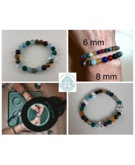 Bracelet chemin de vie 8 mm