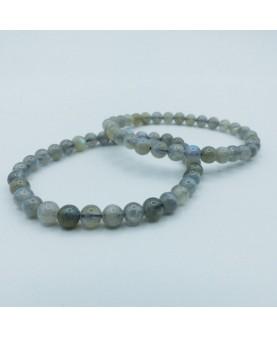 Bracelet Labradorite 6mm AA+