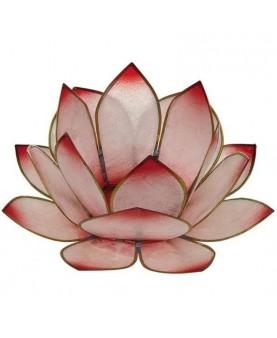 Bougeoir Lotus - Rose